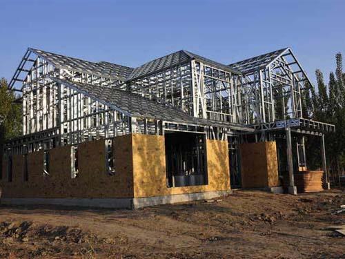 轻钢龙骨结构房-轻钢龙骨结构房厂家